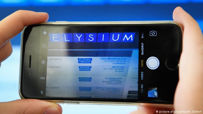 Schlag gegen Kinderpornografie-Plattform Elysium (picture-alliance/dpa/A. Dedert)