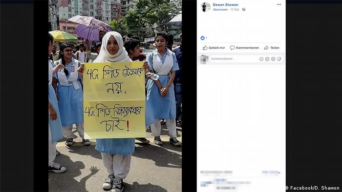 Bangladesh Cuts Mobile Internet to Quell Road Safety Protests