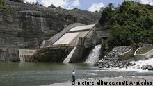 Costa Rica Eröffnung Wasserkraftwerk Reventazon