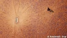 Australien Dürre Luftbildaufnahmen