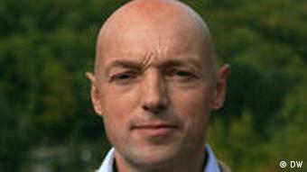 DW Korrespondent John Laurenson Frankreich
