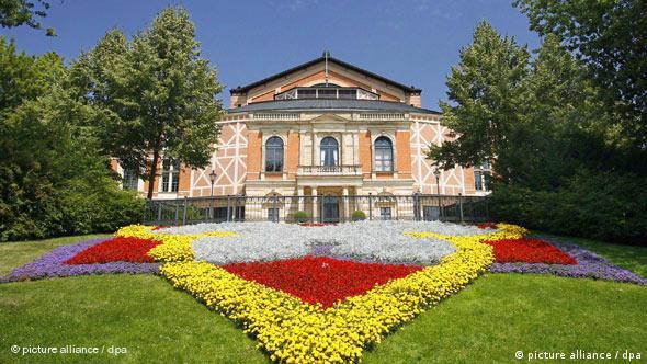 Bildergalerie Bayreuth: 01 Festspielhaus