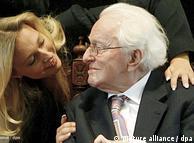 Katharina  Wagner and Wolfgang Wagner