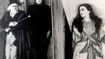 Filmszene aus Das Kabinett des Dr. Caligari