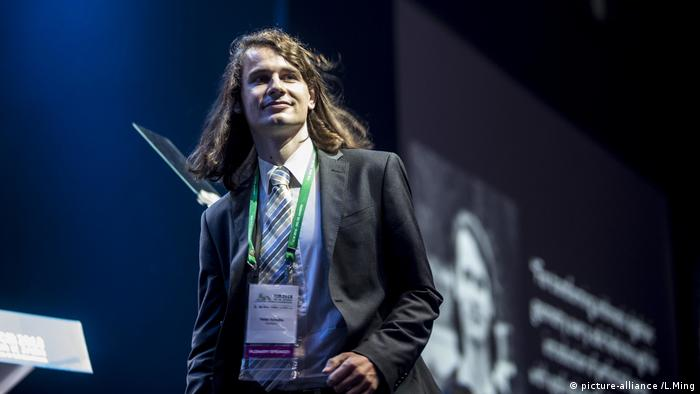Peter Scholze, Mathematiker (picture-alliance /L.Ming)
