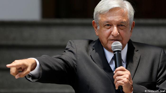 Mexiko Andres Manuel Lopez Obrador (Reuters/G. Graf)