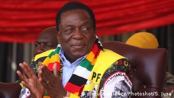 Simbabwe Wahl   Emmerson Mnangagwa, Präsident