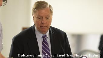 USA Senator Lindsey Graham, South Carolina (picture-alliance/Consolidated News Photos/A. Edelman)