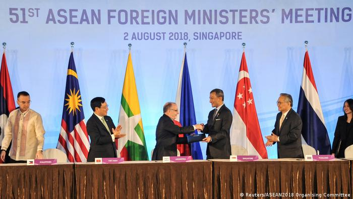 Singapur ASEAN-Gipfel (Reuters/ASEAN2018 Organising Committee)