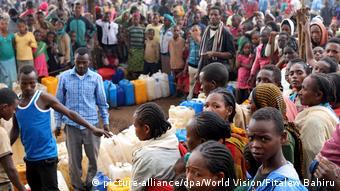 Äthiopien Gedeb Binnenflüchtlinge aus West-Guji