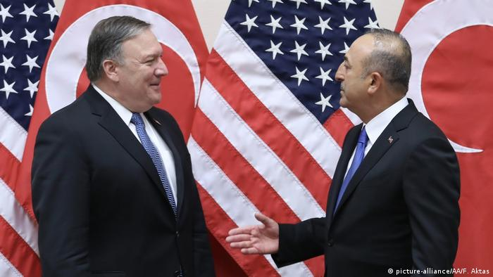 Pompeo and Cavusoglu