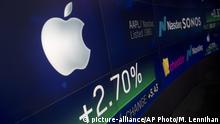 Apple knackt eine Billion US-Dollar