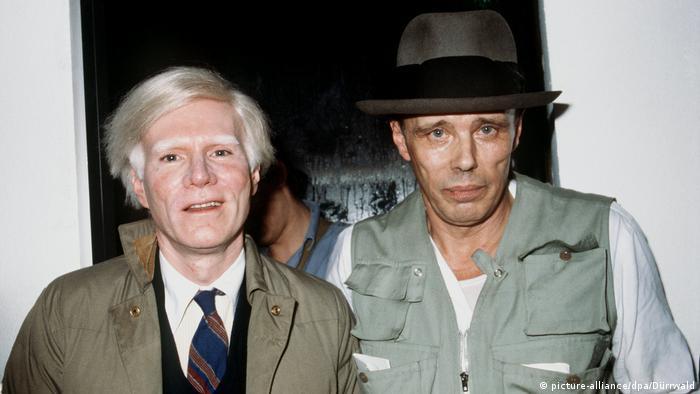 Энди Уорхол и Йозеф Бойс (1979)