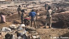 29.06.2018+++Minen in Kipushi in DR Kongo (c) DW/Kossivi Tiassou