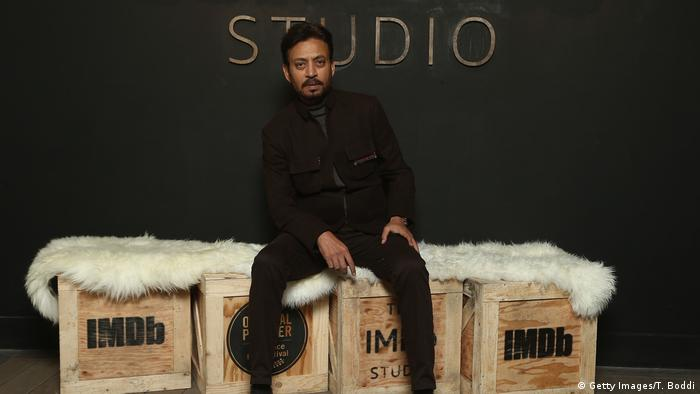 Irrfan Khan of 'Puzzle' attends The IMDb Studio and The IMDb Show on Location at The Sundance Film Festival on January 22, 2018