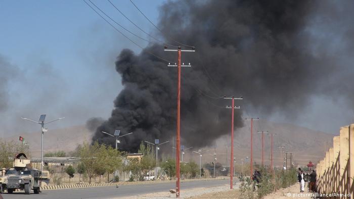 Gardes war auch schon im Oktober vergangenen Jahres Schauplatz eines schweren Selbstmordanschlages (Foto: picture-alliance/Ahmadi)