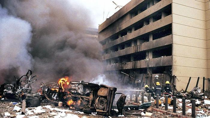 Bombenattentat auf US-Botschaft in Nairobi (picture-alliance/dpa)