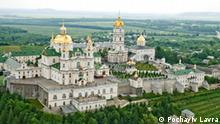 Screenshot Kloster Heilige Mariä Himmelfahrt Pochayiv Lavra