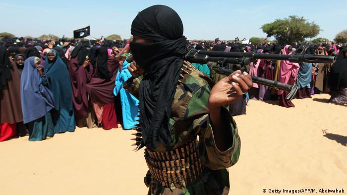 Somalia Kämpfer der Terrormiliz al-Shabaab