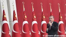 Jahrestag Putschversuch in der Türkei, Recep Tayyip Erdogan