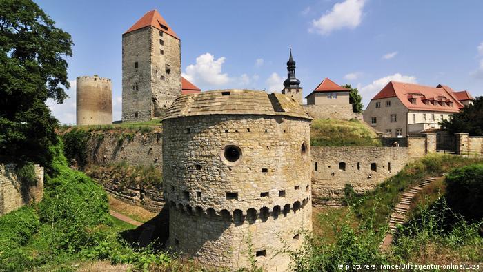 La Ruta Románica, Castillo de Querfurt