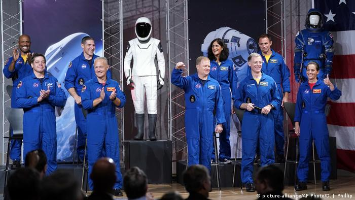 A team of NASA astronauts that wants to return human spaceflight launches back to American soil - quote from NASA