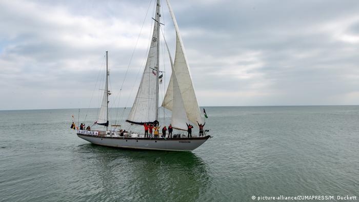 Gaza Freedom Flotilla in Brighton, UK (picture-alliance/ZUMAPRESS/M. Duckett)