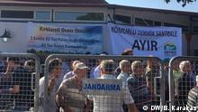 Fotos aus einer Protestaktion in Thrazien-Region in der Türkei gegen geplantes Waermekraftwerk. Fotos wurden von unserer Korrespondentin Burcu Karakaş gemacht:
