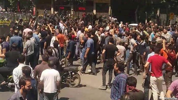 Iran Proteste - Bild nicht verifziert (Radio Farda)