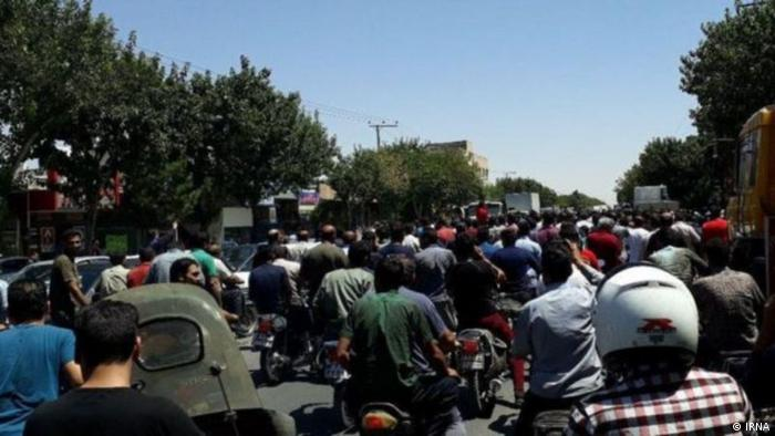 Iran Proteste in Isfahan