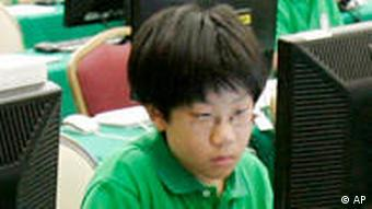 Seoul students compete during a Korean Olympiad in Informatics