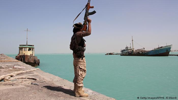 Jemen Meerenge Bab al-Mandab (Getty Images/AFP/S. Al-Obeidi)