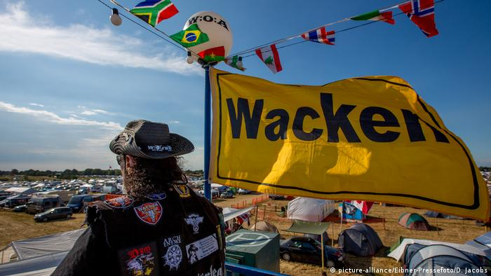 wacken fan (picture-alliance/Eibner-Pressefoto/D. Jacobs)