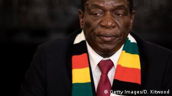Simbabwe Präsidentschaftswahl Emmerson Mnangagwa erklärter Wahlsieger