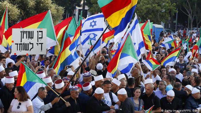Israel Drusen Proteste in Tel Aviv