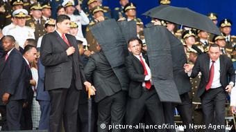 Venezuela Attentat auf Präsident Maduro