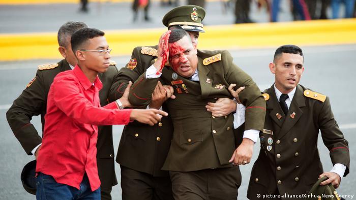 Venezuela Attentat auf Präsident MaduroK