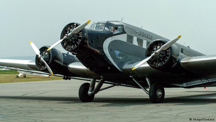 Ju-Air - Rundflüge mit der Ju 52 (Imago/Viadata)
