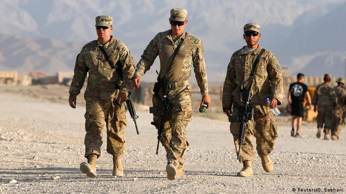 Afghanistan US-Soldaten in der Provinz Logar (Reuters/O. Sobhani)