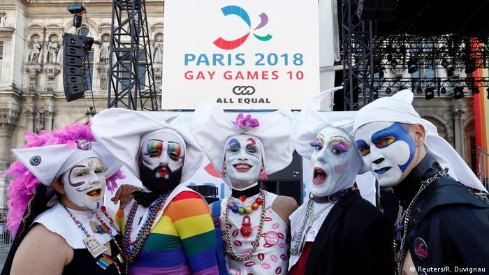 Frankreich Gay Games 2018 in Paris