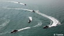 Iran Seemanöver im Persischen Golf Straße von Hormus