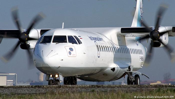 Iran Asseman Airline ATR Turboprop (picture-alliance/dpa/EADS ATR)
