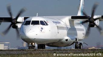 Самолет ATR-72-500 одной из иранских авиакомпаний