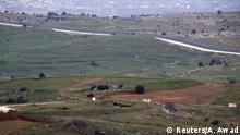 Golanhöhen Grenze Syrien Drusensiedlungen