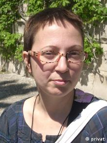 Marija Hamersak, kroatische Menschenrechtsaktivistin (privat)