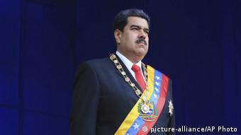 Venezuela | Explosion während Rede Maduros