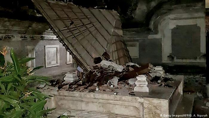 Indonesien Erdbeben in Lombok (Getty Images/AFP/G. A. Ngurah)