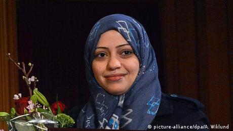 Samar Badawi (picture-alliance/dpa/A. Wiklund )