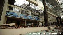 Indonesien nach dem Erdbeben in Lombok