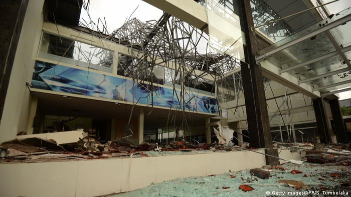 Indonesien nach dem Erdbeben in Lombok (Getty Images/AFP/S. Tumbelaka)